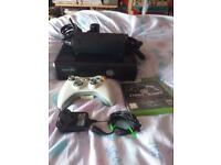 Microsoft Xbox 360 S with controller