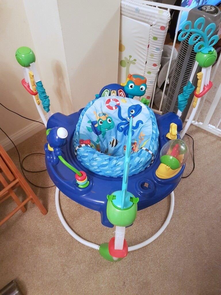 b83f11610 Baby Einstein Neptune s Ocean Discovery Jumper