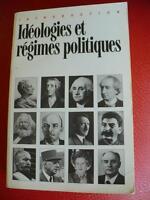 INTRODUCTION IDEOLOGIES et REGIMES POLITIQUES