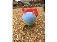 Baby bug rocking toy