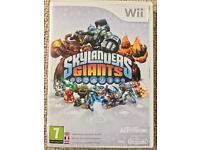 Skylanders Giants Wii Game & Figures
