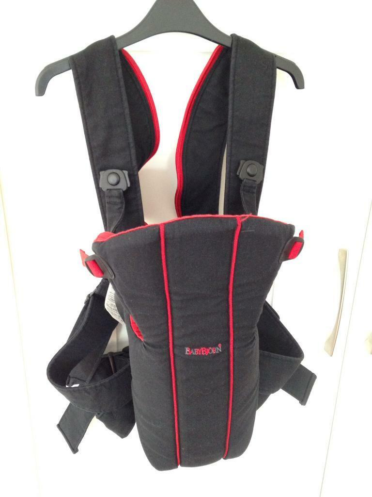 08cff70e3fe Baby Bjorn baby carrier with lumbar support