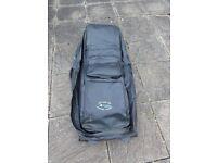 Leather Golf Club Travel/Flight Bag