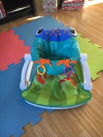 Baby's froggy sit me up floor seat