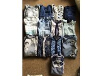 Newborn and up to a month boys bundle 40 + items!