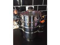 4 Tier Stainless Steamer
