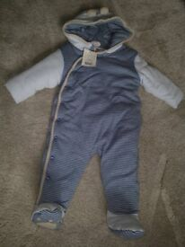 New padded Snow Suit (6-9 mnths)