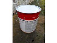Vinyl guard grey boat paint.