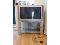 "32"" Sony Trinitron TV with stand"