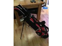 Kids Dunlop Stand Bag and Clubs