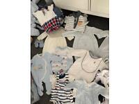 Baby boy clothing bundle 0-6 months