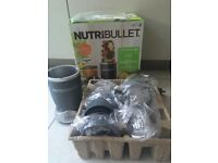 Selling Nutribullet blender with all its accessories.
