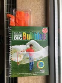 How to make : big bubbles BRAND NEW