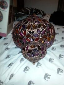 Beautiful moroccon lamp shade