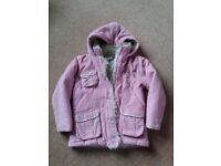 Girls Winter Coat age 6-7
