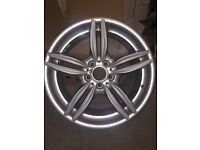 BMW 5 series 19 inch alloy wheel