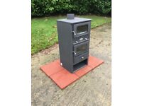 woodburner with oven brand new woodburnersuk