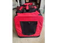 Dog / Cat carrier ( used once!)