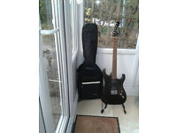 Washburn X Series rock guitar