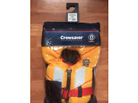 Crewsaver Supersafe 100N Lifejacket Child 20 kg in excellent condition