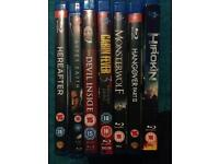 6x Blu Rays all for £5 bargain! Reigate, Surrey