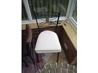 Ceramic Patio Table and Chairs