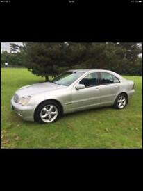 2002 Mercedes c270cdi **NEW TYRES/PARTS **FULL MOT**