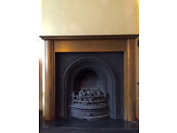 Fireplace Cast Iron Victorian Reproduction