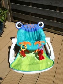 Fisher Price Sit me up - frog baby chair