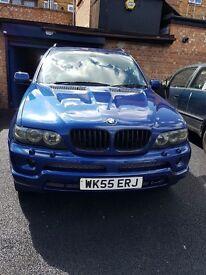 BMW X5 Sports Le Mans blue limited edition