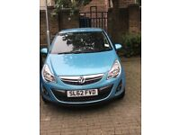 Vauxhall Corsa, Blue, 2012- 1.2 Manual, low milage, Priced low-open to offers