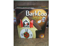 "UNUSUAL ""BARKCOO"" CLOCK FOR DOG LOVERS"