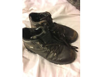 BLACKS Brown Leather Walking Boots Size 6