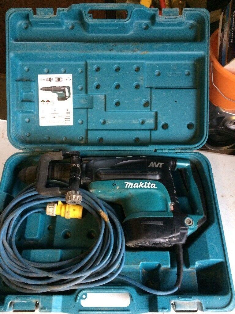 MAKITA HR5211C 52MM SDS MAX ROTARY HAMMER BREAKER DRILL 110V AVT