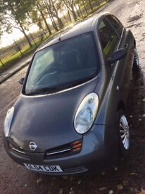 Nissan Micra Se Automatic Grey 12 Months MOT Low Mileage Part Leather CD Radio Electric Windows
