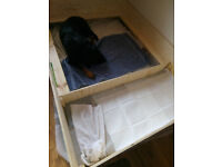 Whelping box for large dog (6x4 ft)