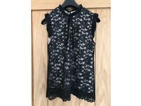 Dorothy Perkins lace top size 10/12