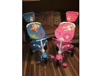 3 in 1 fisher price trikes (selling seperately)