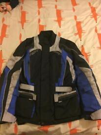 RST Waterproof winter textile jacket XL