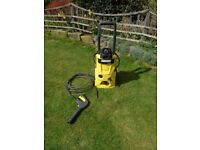 Karcher K4.600 pressure washer, with lance, spares or repair.