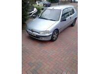 1litre Peugeot 106 52 plate