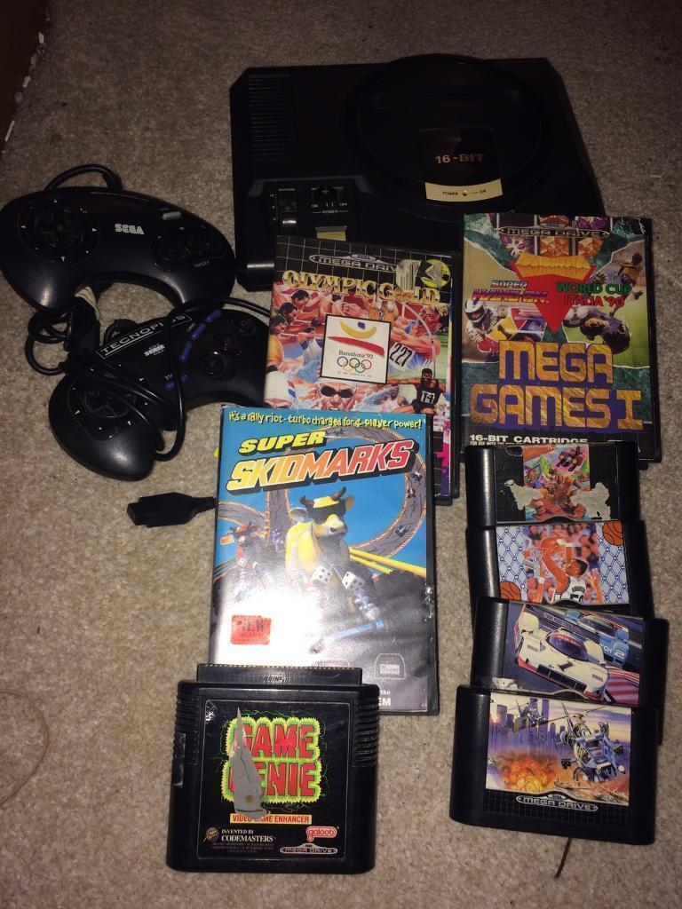 Sega Megadrive console. Undle