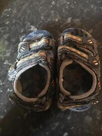 Boys sandals size 4 George Asda.
