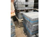 190mm Lignacite Dense Solid Concrete blocks 7.3N. 250 available. 190 x 215 x 440mm
