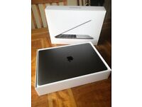 MacBook Pro 2017 Space Grey Touch Bar and Touch ID 3.1GHz Processor 256GB Storage