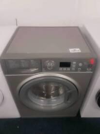 Silver Hotpoint 7kg washing machine with warranty