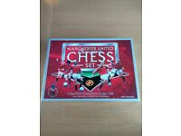 Manchester United champions chess set