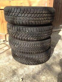 Pirelli Winter Tyres 175/65 R15. VGC.
