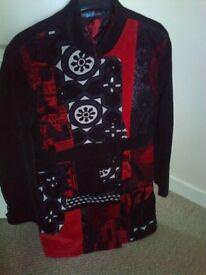 Designer DESIGUAL ,Modern Ladies, Teenagers Winter Coat