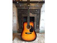 Stagg Handmade Western Guitar SW203SB